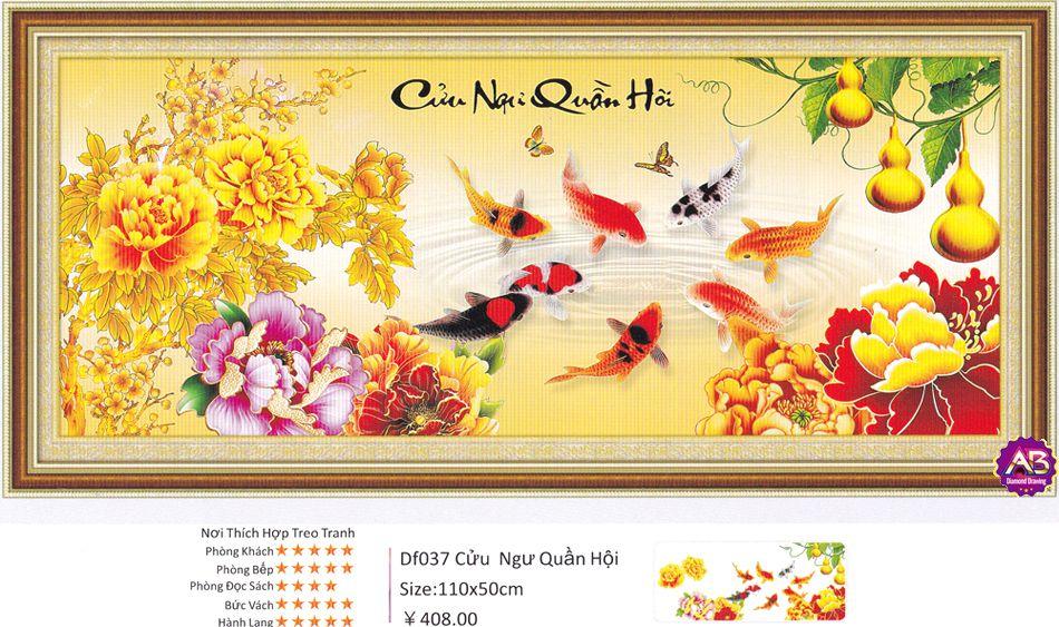 Cuu Ngu Quan Hoi Tranh Dinh Da Kim Cuong Ab Tdf037 Df037305000
