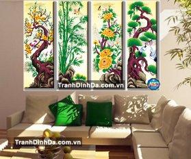 Df194 Tranh Dinh Da Tu Quy Dao Truc Cuc Tung