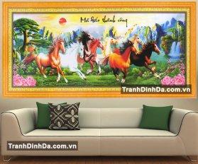 Df054 Tranh Dinh Da Ma Dao Thanh Cong