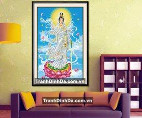 Tranh Dinh Da Phat Quan Am Td2289