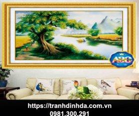 Tranh Dinh Da Cay Da Lang Tdf374