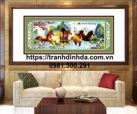 Tranh Dinh Da Ma Dao Thanh Cong Tdf261