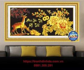 Tranh Dinh Da Phuc Loc Tho Hy Tai Tdf358
