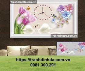 Tranh Dinh Da Dong Ho Hoa Tu Lip Tdf8063