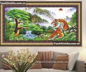 Tranh Dinh Da Manh Ho Df2095