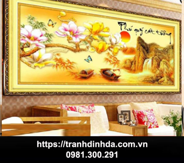 Tranh Dinh Da Phu Quy Cat Tuong Tdf 121