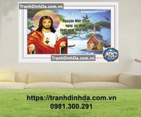 Tranh Dinh Da Thien Chua Chua Jesu Tdf361