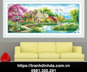 Tranh Dinh Da To Am Hanh Phuc Tdf2672