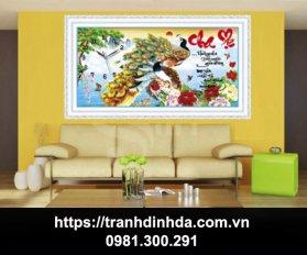 Tranh Dinh Da Cao Cap Cha Me H1152