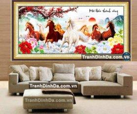 Tranh Da Kim Cuong Abc Ma Dao Thanh Cong Tdf354 200Cm X 95Cm 1