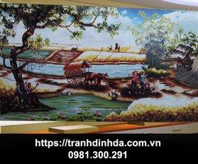 Tranh Dinh Da Lang Que Viet Nam Df192