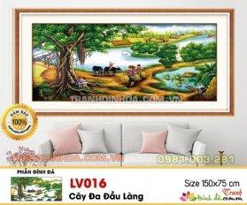 Tranh Dinh Da Cao Cap Lang Que Viet Lv016