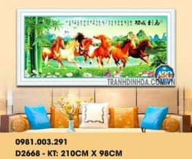 Tranh Ma Da Thanh Cong 8 Ngua Df2668