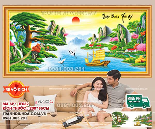 Tranh-Dinh-Da-Thuan-Buom-Xuoi-Gio-Tf082