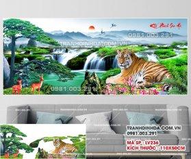 Tranh Dinh Da Manh Ho Khi Phach Son Ha Lv236