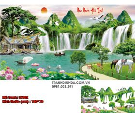 Tranh Dinh Da Cao Cap Lv302