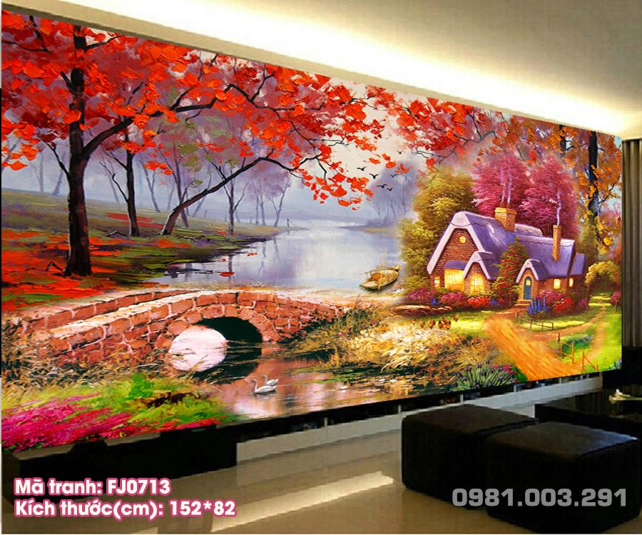 Tranh-Theu-Chu-Thap-Phong-Canh-Ngoi-Nha-Ven-Song-Fj0713